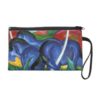 Mitón azul de los caballos de Franz Marc