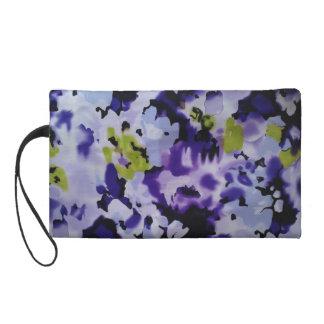 MITÓN - BlackGreenLilacPurple floral