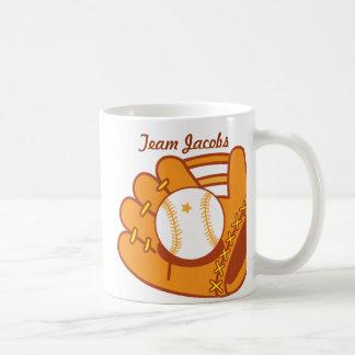 Mitón de béisbol tazas