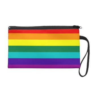 Mitón de la bandera del orgullo del arco iris de 7