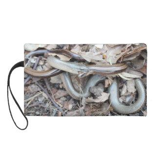 Mitón de la cartera del diseño de la serpiente