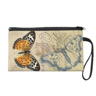 Mitón de la colección de la mariposa del vintage
