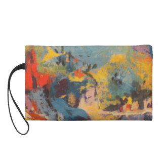 mitón de los bagettes con arte abstracto