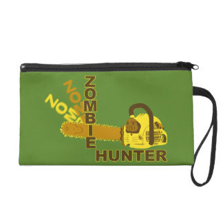 Mitón del cazador del zombi (fondo verde)