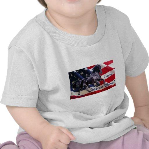 ¡Mitón del dólar apoyo el caballo salvaje Bama! Camisetas