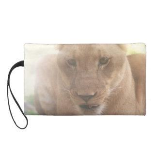 Mitón del perfil de la leona