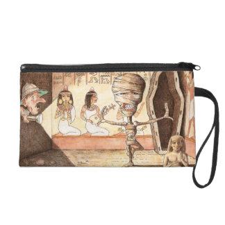 Mitón egipcio antiguo de la momia del baile