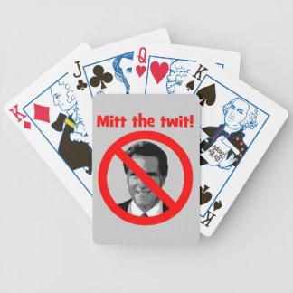 Mitón el twit cartas de juego