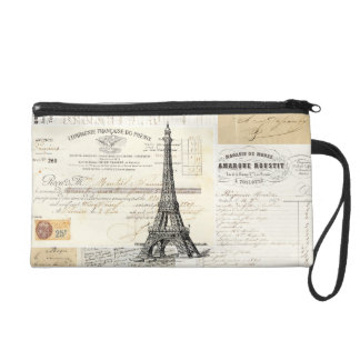 Mitón francés de las Ephemeras de París del vintag