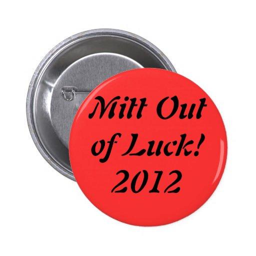 Mitón fuera del botón de la suerte 2012 pins
