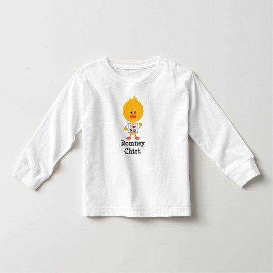 Mitón largo del corazón de la camiseta I de la