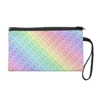 Mitón - Mini-Monedero - costura del arco iris