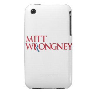 Mitón Wrongney iPhone 3 Protectores