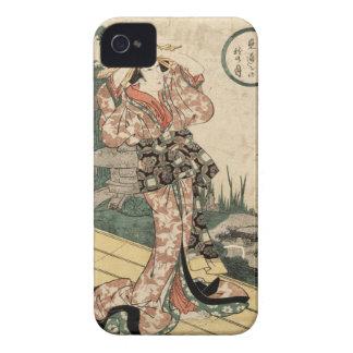 Mitoshi ningún aki ningún tsuki Case-Mate iPhone 4 fundas