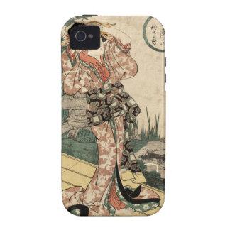 Mitoshi ningún aki ningún tsuki iPhone 4/4S carcasa
