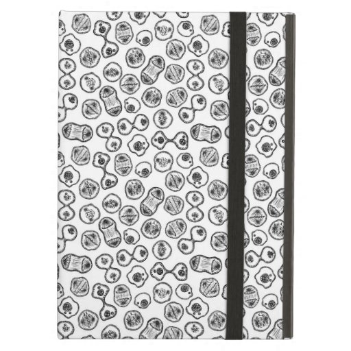 Mitosis - Black on White Case For iPad Air