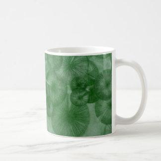 Mitosis (green) as seen in RipRap Journal Coffee Mug