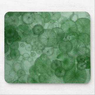 Mitosis (green) as seen in RipRap Journal Mouse Pad