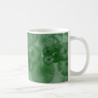 Mitosis (green) as seen in RipRap Journal Classic White Coffee Mug