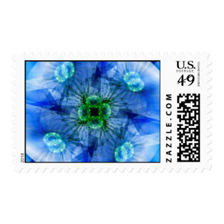 Mitosis Postage Stamp