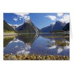 Mitre Peak, Milford Sound, Fiordland National Greeting Cards