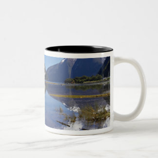 Mitre Peak, Milford Sound, Fiordland National Coffee Mugs