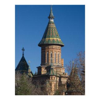 Mitropolitan Cathedral, Timisoara, Romania Letterhead
