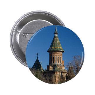 Mitropolitan Cathedral, Timisoara, Romania Pinback Button