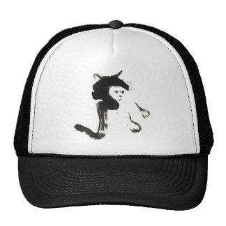 Mitss the Cat, Sumi-e Trucker Hats