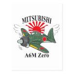 mitsubishi cero postales