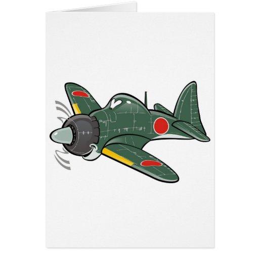 mitsubishi cero tarjeta de felicitación