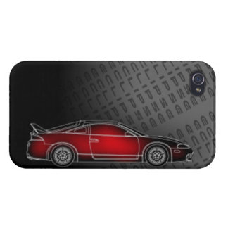 mitsubishi eclipse phone case import tuner racing iPhone 4 cases