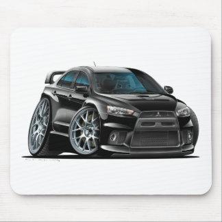 Mitsubishi Evo Black Car Mouse Pad