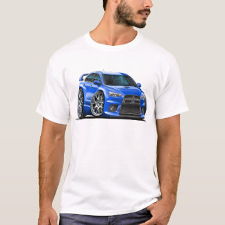 Mitsubishi Evo Blue Car T-Shirt