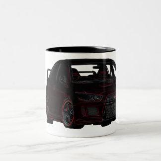 Mitsubishi Evo Mug (Big one, lots of Coffee!)