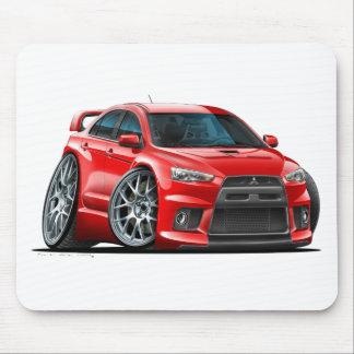 Mitsubishi Evo Red Car Mouse Pad