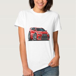 Mitsubishi Evo Red Car T Shirt
