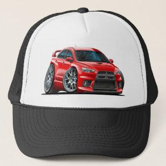 Mitsubishi Evo Red Car Trucker Hat