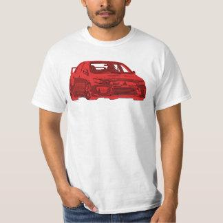 Mitsubishi Evo - X - Bright Red Design T-Shirt