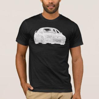Mitsubishi Evo - X - Electric White Design T-Shirt