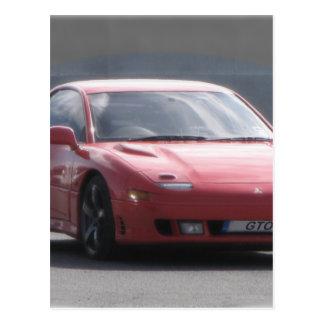 Mitsubishi GTO Twin Turbo Postcard