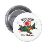 mitsubishi J2M Raiden Pins