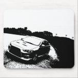"Mitsubishi Lancer Evo X Mouse Pad<br><div class=""desc"">Mitsubishi Lancer Evolution Mouse Pad</div>"