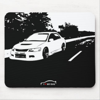 Mitsubishi Lancer Evolution 9 - I Love my EVO Mouse Pad