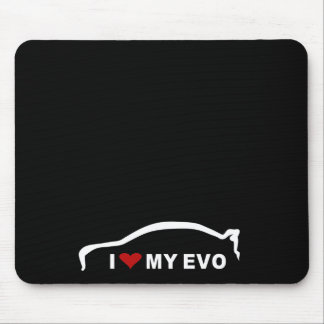 Mitsubishi Lancer Evolution X - I Love my EVO Mouse Pad