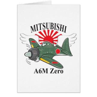 mitsubishi zero card