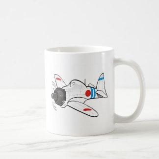 mitsubishi zero coffee mug