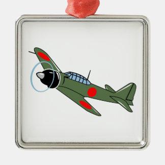 Mitsubishi Zero Plane Metal Ornament