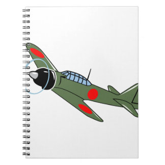 Mitsubishi Zero Plane Notebook