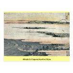 Mitsuke por Utagawa, Toyohiro Ukiyoe Tarjeta Postal